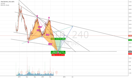 TWTR: $TWTR butterfly in progress