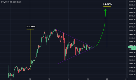 BTCUSD: Bitcoin consolidating in this frenzy? Not for long
