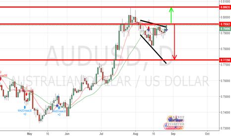 AUDUSD: AUD/USD Forecast August 28, 2017, Technical Analysis