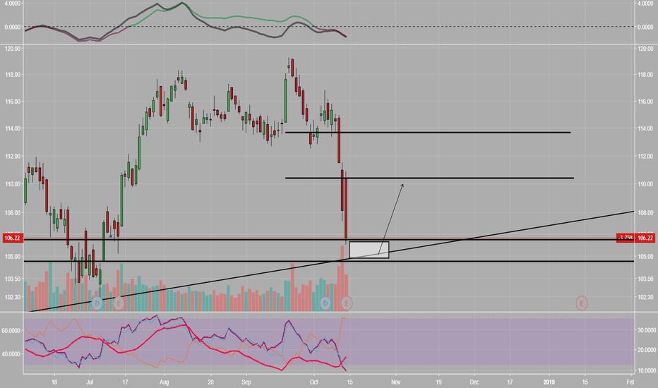 JPM: JPM-Possible buy  zone 104-106