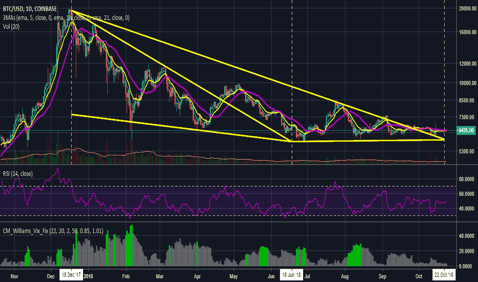 BTCUSD: Bitcoin (BTC) Does Not Seem Likely To Reach New ATH By Year End