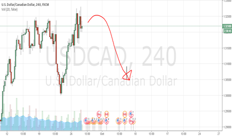 USDCAD: Bearish Turn on USDCAD