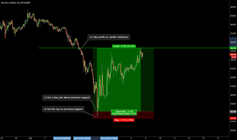 BTCUSD: How I picked the bottom and sold at the top on Buttcoin