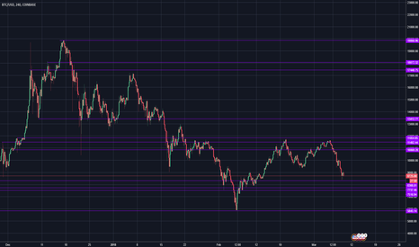 BTCUSD: Bitcoin Crash And How To Trade Levels