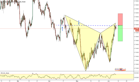 AUDUSD: AUDUSD_ Gartley Pattern Completion