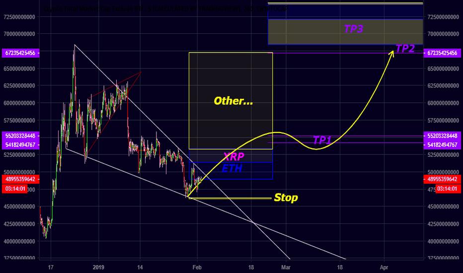 TOTAL2: TOTAL2 MarketCap - BTC