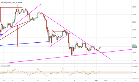BTCUSD: 260 here we come