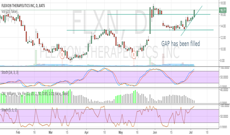 FLXN: GAP has been filled