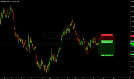 NZDUSD: small short trade