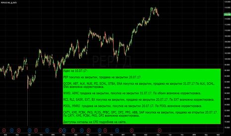 PEP: PEP и т.д. покупки и продажи на 10.07.17