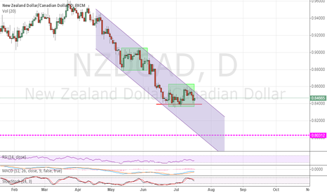 NZDCAD: NZDCAD day graph adjustment finished,time to entry short