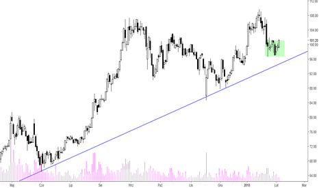 JSW: JSW - konsolidacja przy linii trendu