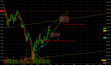 BTCUSD: BTC/USD 5 day projection
