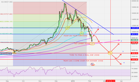 BTCUSD: BITCOIN NEXT MOVE - BOUNCE IS EXPECTED TO 9K