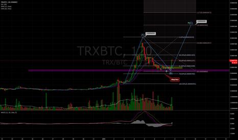 TRXBTC: TRXBTC 2h, Posible target