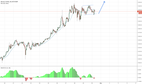 BTCUSD: The bullish flag