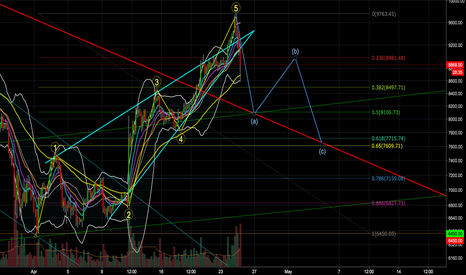 BTCUSD: Impending Downtrend Test