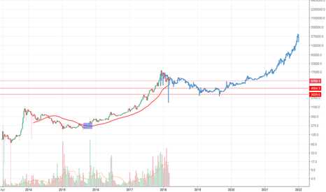 BTCUSD: Long term bitcoin trend 300k + price target.