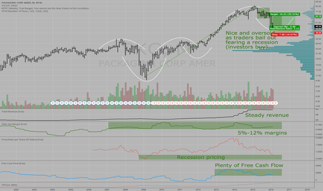 PKG: Packaging Corp - PKG - oversold and cheap