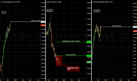 DXY: GOLD, DXY, UJ - FOMC Trades