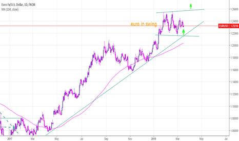 EURUSD: euro in swing