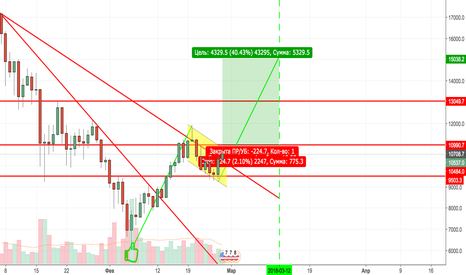 BTCUSD: BTC in game!
