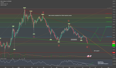 NEOUSD: NEO - Elliot correction completed - LONG