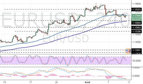 EURUSD: EUR/USD : la paire baisse en attende les données d'inflation