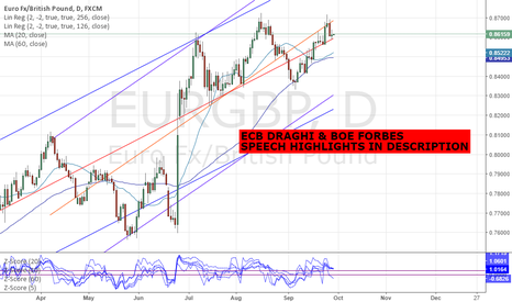 EURGBP: EURGBP - ECB PRESIDENT DRAGHI & BOE SHAFIK SPEECH HIGHLIGHTS
