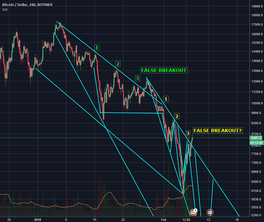 BITCOIN False Breakout? Seek Shelter!