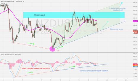 NZDUSD: Bullish Potential NZD/USD 19/8/14