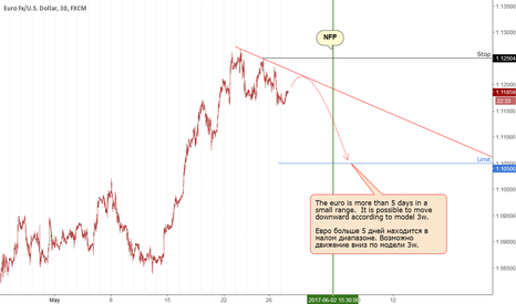 EURUSD: Euro: it is possible to move down.