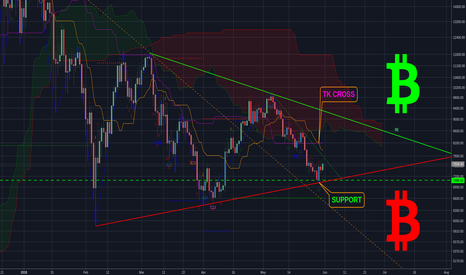 BTCUSD: Bitcoin Support Holding, but can it continue to rally?