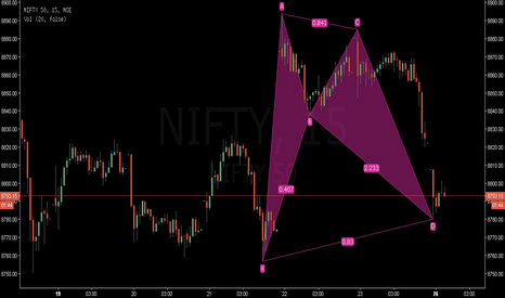 NIFTY: This Bullish Bat on Nifty might arrest further fall !