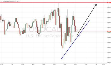 USDCAD: long usd cad. q1