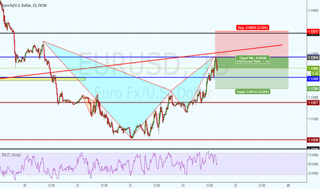 EURUSD: BEAR BAT