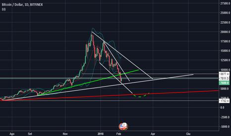 BTCUSD: Bitcoin - Mid Term 2018 - Linee del Trend