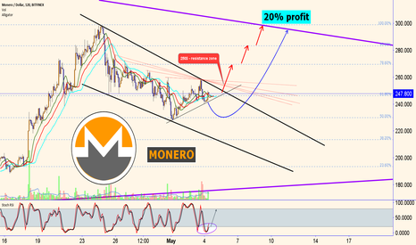 XMRUSD: MONERO: second wave
