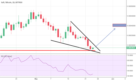 SALTBTC: Salt Daily Chart, opportunity???