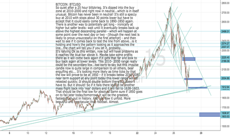 BTCUSD: BITCOIN:BTCUSD  UPdate Rallying from 2010