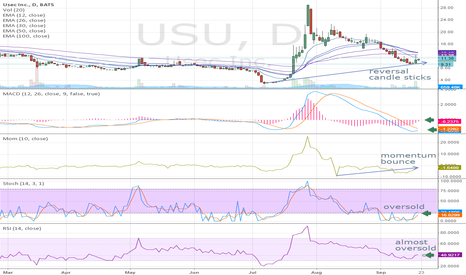 USU: USU about to bounce?