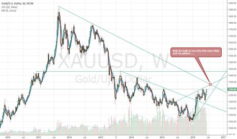 XAUUSD: Watch for gold around 1330
