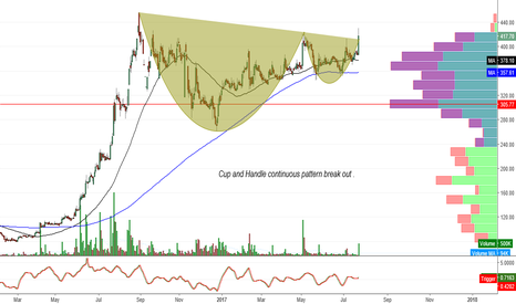 SUDARSCHEM: Sudarsan Chem : Cup and Handle pattern break out