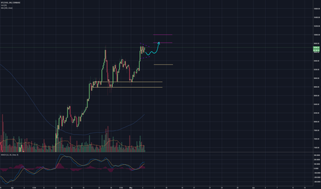BTCUSD: Bullish Chart - means nothing!  Let's see our options