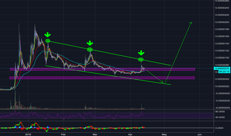 RDDBTC: REDDCOIN (RDD) to 1,000% After Reversal Completion - H