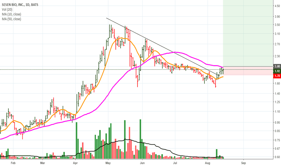 Sesn Stock Price And Chart Tradingview