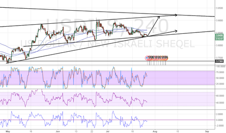 USDILS: long USDILS
