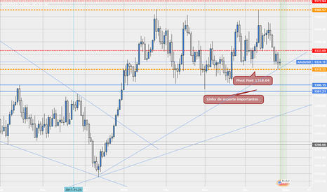 XAUUSD: Pivot Point  no Xauusd 1D