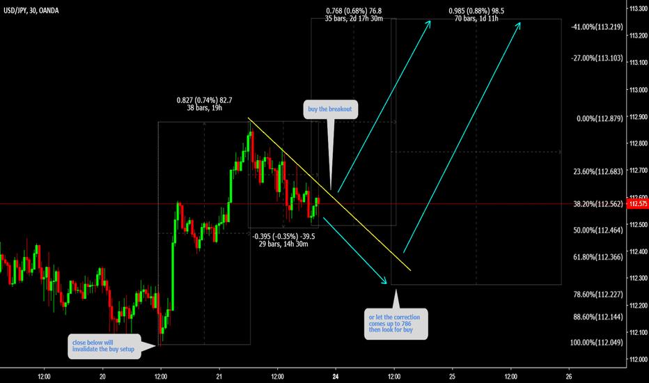 USDJPY: USDJPY ( Short term buy then longer term short )