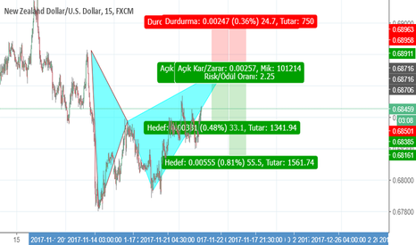 NZDUSD: harmonıc pattern